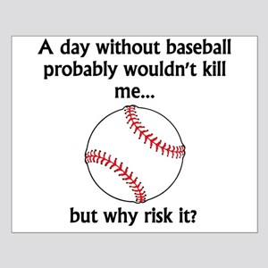 A Day Without Baseball Poster Design