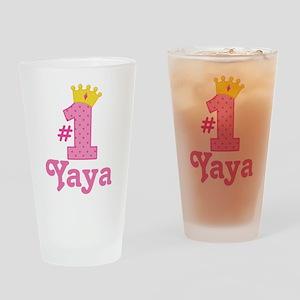 Yaya (Number One) Drinking Glass