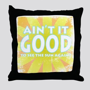 aintit Throw Pillow