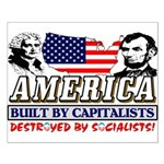 America: Destroyed By Socialists! Poster