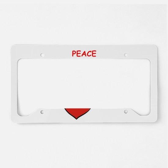 MILKSHAKES License Plate Holder