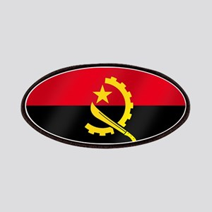 Flag of Angola Patches