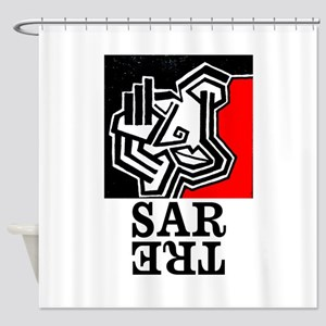 Sartre Philosophy Existentialism Shower Curtain
