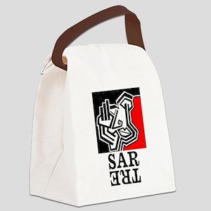 Sartre Philosophy Existentialism Canvas Lunch Bag