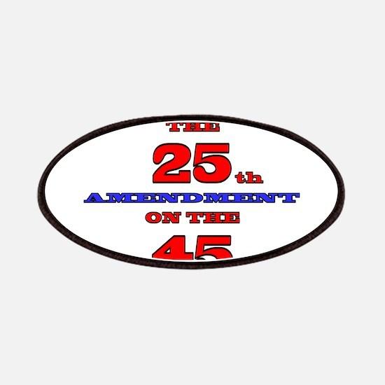Invoke the 25th Amendment Patch