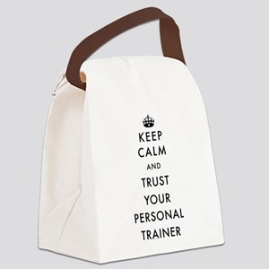 Keep Calm and Trust Your Personal Canvas Lunch Bag