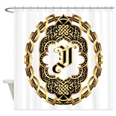 Monogram I Shower Curtain