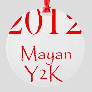 2012 Round Ornament