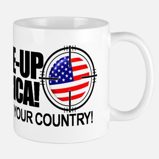 anti obama bumper sticker Mug