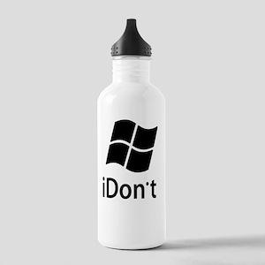 2-idont-shirt2 Stainless Water Bottle 1.0L