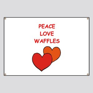 waffles Banner