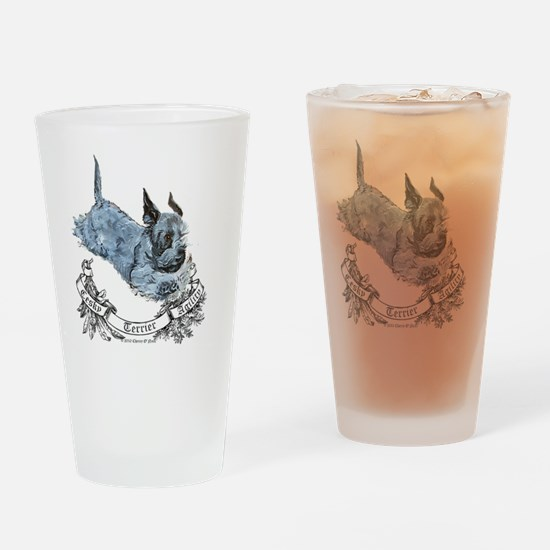 Cesky agility Drinking Glass