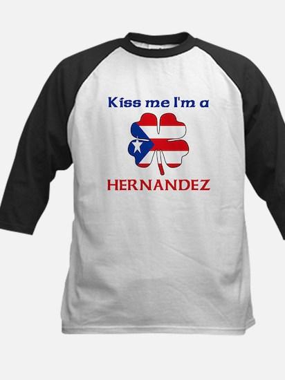 Hernandez Family Kids Baseball Jersey