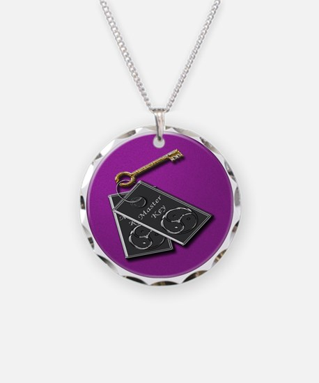 master key purp rnd Necklace