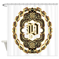 Monogram O Shower Curtain