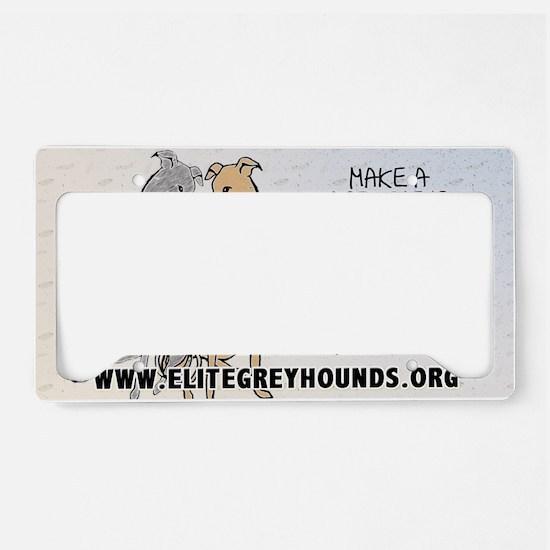 3-sticker2 License Plate Holder