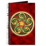 Celtic Pentacle Spiral Journal