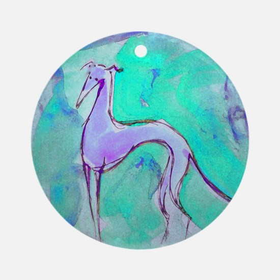 Blues Hound Ornament (Round)