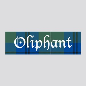 Tartan - Oliphant 36x11 Wall Decal