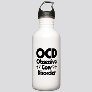 OCD Obsessive Cow Diso Stainless Water Bottle 1.0L