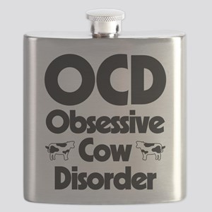OCD Obsessive Cow Disorder Flask