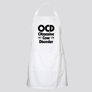 OCD Obsessive Cow Disorder Light Apron