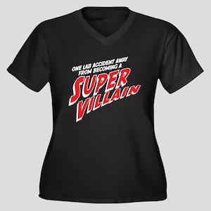 Super Villain Plus Size T-Shirt