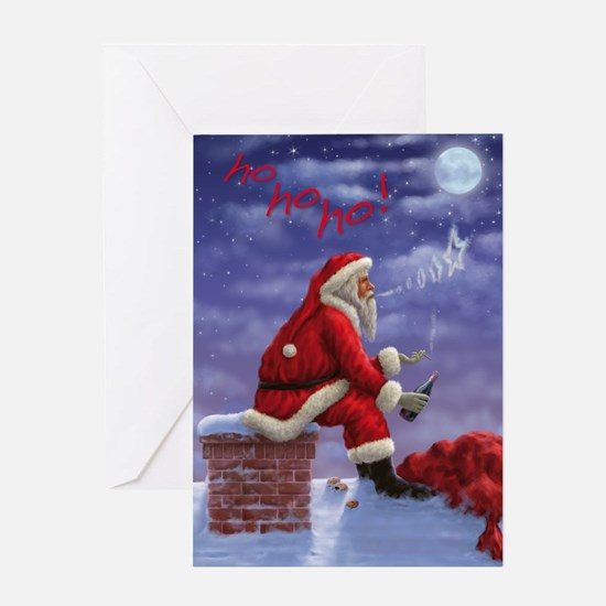 Unique Yo ho ho christmas Greeting Card