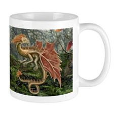 Autumn Leaf Dragon Mug