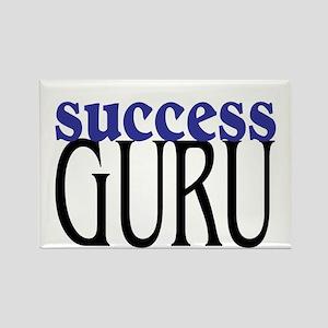 Success Guru Rectangle Magnet