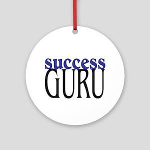 Success Guru Ornament (Round)