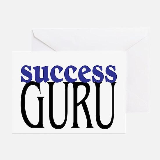 Success Guru Greeting Cards (Pk of 10)