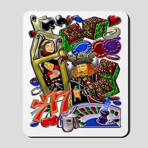 Royal Flush Games of Skill and chance 12 Mousepad