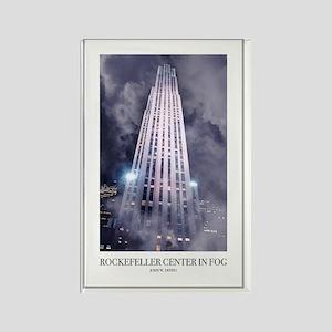 Rockefeller-Poster Rectangle Magnet
