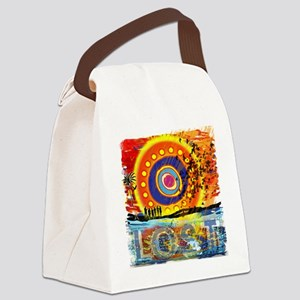 LOST OCEANIC SUNSET NEW copy Canvas Lunch Bag