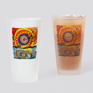 LOST OCEANIC SUNSET NEW copy Drinking Glass