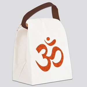 orange_om Canvas Lunch Bag