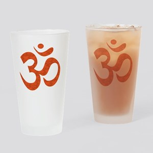 orange_om Drinking Glass