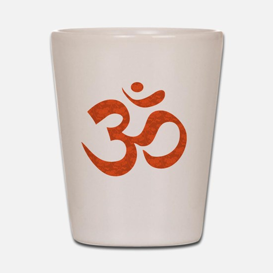 orange_om Shot Glass