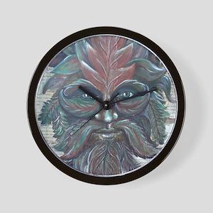 Green Man - RELEASE (14x18) Wall Clock