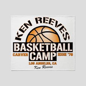 carver-reeves camp Throw Blanket