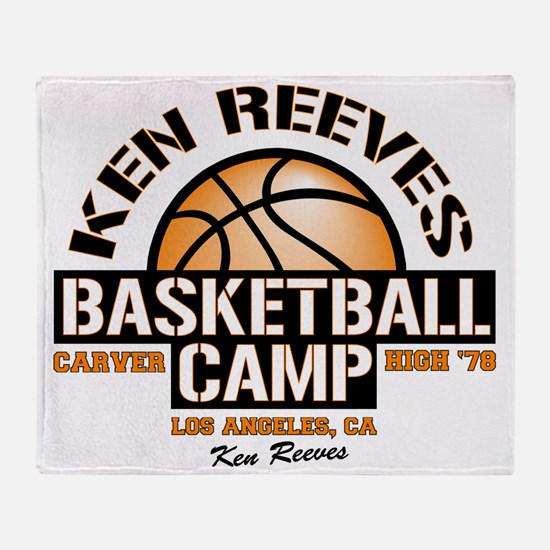 carver-reeves camp Throw Blanket