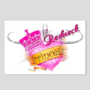 REDNECK PRINCESS Postcards (Package of 8)