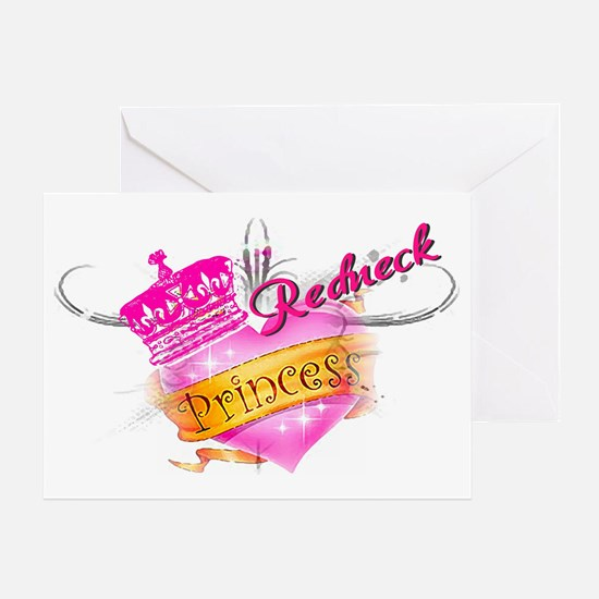 REDNECK PRINCESS Greeting Card