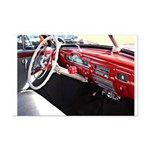 Classic Car Dashboard Poster Print (Mini)