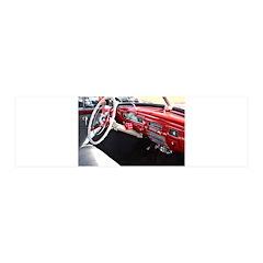 Classic car dashboard Wall Sticker