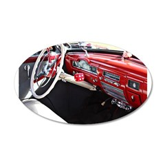 Classic car dashboard Wall Sticker