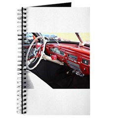 Classic car dashboard Journal