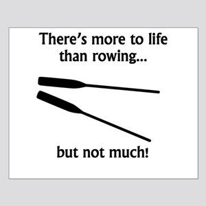 More To Life Than Rowing Poster Design