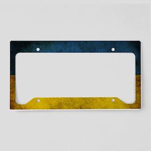 Ukraine License Plate Holder